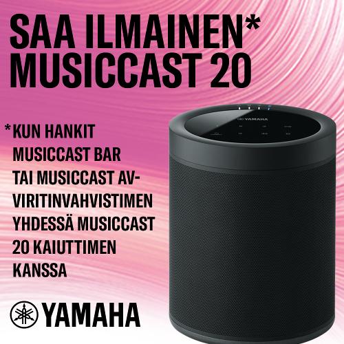 MusicCast Surround kampanja