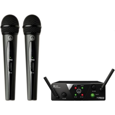 AKG WMS40 Mini Dual Vocal Set ISM