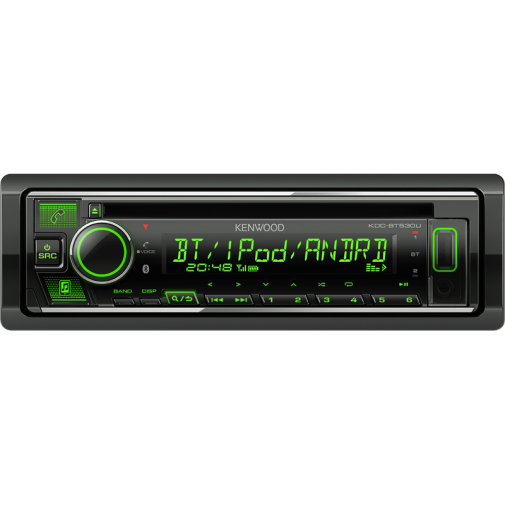 Kenwood KDC-BT530U autosoitin CD/BT/USB/AUX